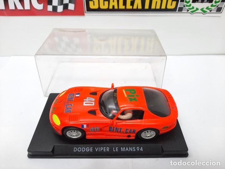Slot Cars: SCALEXTRIC DODGE VIPER LE MANS 94 FLY DESCRIPCION!! - Foto 2 - 284024358