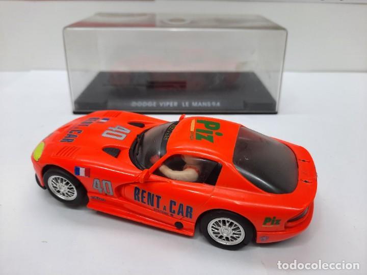 Slot Cars: SCALEXTRIC DODGE VIPER LE MANS 94 FLY DESCRIPCION!! - Foto 3 - 284024358