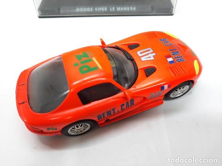 Slot Cars: SCALEXTRIC DODGE VIPER LE MANS 94 FLY DESCRIPCION!! - Foto 5 - 284024358
