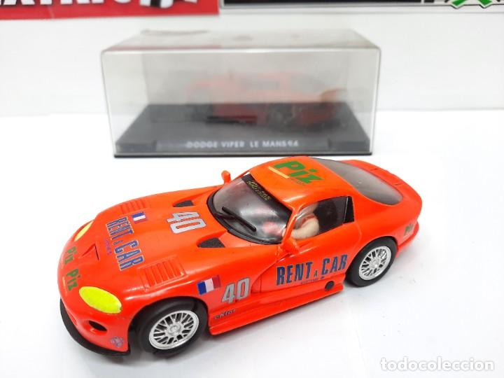 Slot Cars: SCALEXTRIC DODGE VIPER LE MANS 94 FLY DESCRIPCION!! - Foto 9 - 284024358