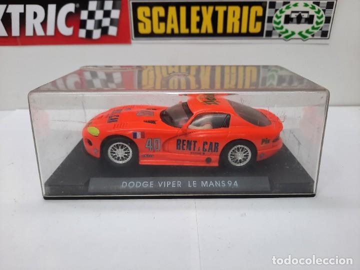 Slot Cars: SCALEXTRIC DODGE VIPER LE MANS 94 FLY DESCRIPCION!! - Foto 10 - 284024358