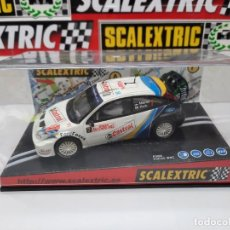 """Slot Cars: SCALEXTRIC FORD FOCUS WRC """" MONTECARLO 2001 """". Lote 284032313"""
