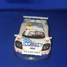 Slot Cars: SLOT CAR SCX SCALEXTRIC FLY 88020 SALEEN S7R CAMPEON DE ESPAÑA GT 2001 A-267. Lote 286894118