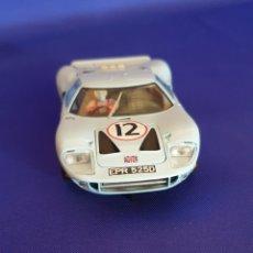 Slot Cars: SCALEXTRIC FORD GT-40 FABRICADO EN ESPAÑA. Lote 286981518