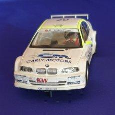 Slot Cars: SCALEXTRIC FLY BMW SERIE 3 FABRICADO EN ESPAÑA. Lote 286998453