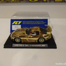 Slot Cars: FLY. VIPER GTS-R ORO. 2º ANIVERSARIO FLY. REF. E-7. Lote 287067393