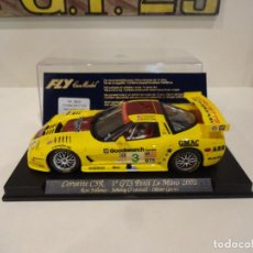 Slot Cars: FLY. CORVETTE C5R. 1º GTS PETIT LE MANS 2002. REF. A-129 - 88025. Lote 287142493