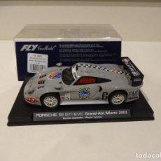 Slot Cars: FLY. PORSCHE 911 GT1 EVO. GRAND-AM MIAMI 2003. REF. A-59 - 88053. Lote 287598943