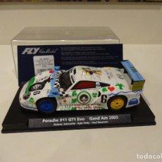 Slot Cars: FLY. PORSCHE 911 GT1 EVO. GRAND AM 2003. REF. A-521 - 88222. Lote 287604698