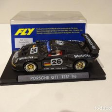Slot Cars: FLY. PORSCHE 911 GT1. TEST 96. MOBIL 1. REF. A-32. Lote 287604888