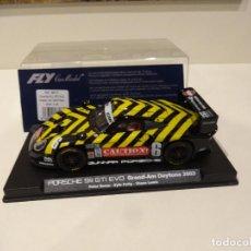 Slot Cars: FLY. PORSCHE 911 GT1 EVO. GRAND-AM DAYTONA 2003. REF. A-50. Lote 287605198
