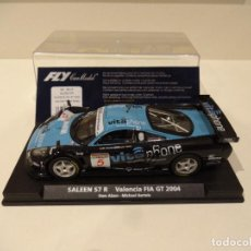 Slot Cars: FLY. SALEEN S7 R. VALENCIA FIA GT 2004. REF. A-261. Lote 287605548
