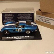 Slot Cars: FLY. NOVEDAD!!. FERRARI 250 GTO. 24H LE MANS 1962. 25 ANIVERSARIO FLY. REF. A-2503. Lote 287812773