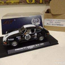 Slot Cars: FLY. NOVEDAD!!. PORSCHE 911. 24H DAYTONA 1966. 25 ANIVERSARIO FLY. REF. A-2502. Lote 287812838