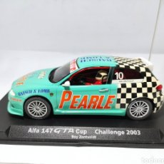 Slot Cars: FLY ALFA 147 GTA CUP CHALLENGE 2003. Lote 287824758