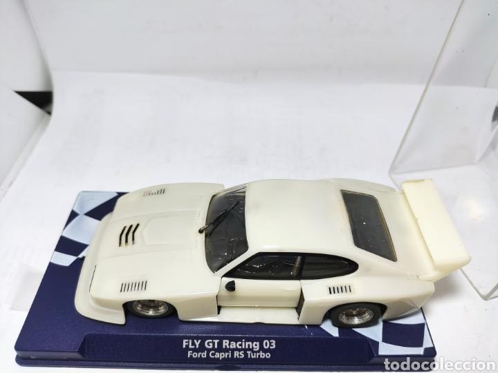 Slot Cars: FLY FORD CAPRI RS TURBO GT RACING 03 - Foto 2 - 287826458