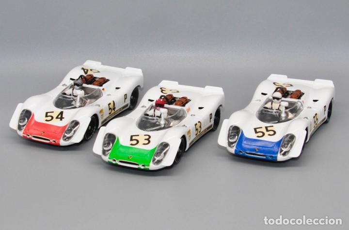 TEAM PORSCHE 908/2 1º-2º-3º 6 HORAS BRANDS HATCH 1969 (FLY CAR MODEL) (Juguetes - Slot Cars - Fly)