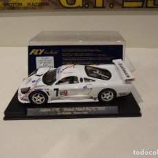 Slot Cars: FLY. SALEEN S7R BRANDS HATCH BGTC 2002. REF. A-265. Lote 287968748