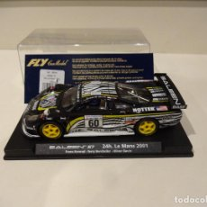 Slot Cars: FLY. SALEEN S7. 24H LE MANS 2001. REF. A-262. Lote 287968763