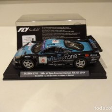 Slot Cars: FLY. SALEEN S7. 24H SPA-FRANCORCHAMPS FIA GT 2004. REF. E-262. Lote 287968783