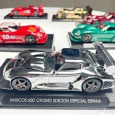 Slot Cars: MARCOS 600 LM CROMO SERIE PARA ESPAÑA. Lote 287973428