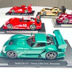 Slot Cars: MARCOS GT GREEN LES CARS BRUSELAS. Lote 287973593
