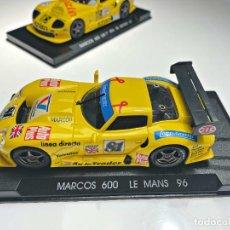Slot Cars: MARCOS 600 LM LE MANS 96 AMARILLO 81. Lote 287973798