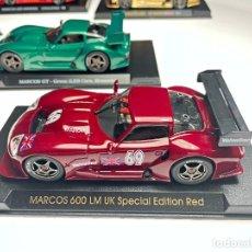 Slot Cars: MARCOS 600 LM UK EDICION RED. Lote 287975018