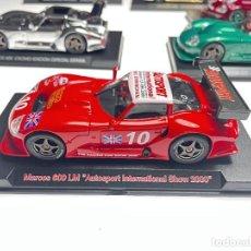 Slot Cars: MARCOS 600 LM EDICION ESPECIAL AUTOSPORT Nº 10. Lote 287975653