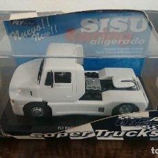 Slot Cars: CAMION SISU RACING ALIGERADO (PRECINTADO) - FLY CAR MODEL - SUPER TRUCKS. Lote 288915503