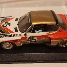 Slot Cars: SCALEXTRIC BMW CSL 3,5 24H LE MANS 1976 DE FLY REF.-88142. Lote 289532118