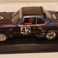 Slot Cars: SCALEXTRIC BMW CSL 3,5 24H LE MANS 1976 DE FLY REF.-88095. Lote 289532228