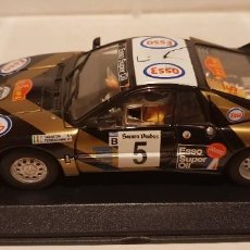 Slot Cars: SCALEXTRIC LANCIA 037 RALLY CATALUÑA DE FLY REF.-88168. Lote 289532683