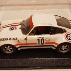 Slot Cars: SCALEXTRIC PORSCHE 911 S REPSOL RALLY FIRESTONE 1970 DE FLY REF.-88145. Lote 289532813
