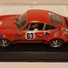 Slot Cars: SCALEXTRIC PORSCHE 911 CARRERA 24H LE MANS 1973 DE FLY REF.-88140. Lote 289532983