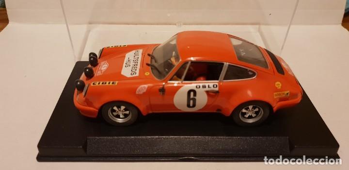 SCALEXTRIC PORSCHE 911 S 1º RALLY MONTECARLO 1970 DE FLY REF.-88134 (Juguetes - Slot Cars - Fly)