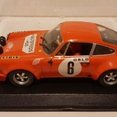 Slot Cars: SCALEXTRIC PORSCHE 911 S 1º RALLY MONTECARLO 1970 DE FLY REF.-88134. Lote 289533143