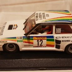 Slot Cars: SCALEXTRIC RENAULT 5 TURBO RALLY COSTA BLANCA DE FLY REF.-88169. Lote 289533428