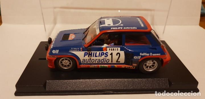 SCALEXTRIC RENAULT 5 TURBO RALLY MONTECARLO 1984 DE FLY REF.-88163 (Juguetes - Slot Cars - Fly)
