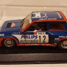 Slot Cars: SCALEXTRIC RENAULT 5 TURBO RALLY MONTECARLO 1984 DE FLY REF.-88163. Lote 289533568