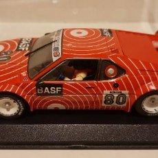 Slot Cars: SCALEXTRIC BMW M1 PROCAR DECORACION BASF DE FLY REF.-88171. Lote 289534208