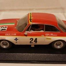 Slot Cars: SCALEXTRIC ALFA ROMEO GIULIA VI PREMIO CIUDAD DE ALCAÑIZ DE FLY REF.-88158. Lote 289534293
