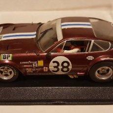 Slot Cars: SCALEXTRIC FERRARI 365 GTB/4 DAYTONA 24H LE MANS 1972 DE FLY REF.-88111. Lote 289534328