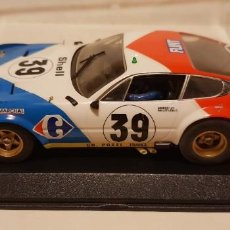 Slot Cars: SCALEXTRIC FERRARI 365 GTB/4 DAYTONA 24H LE MANS 1972 DE FLY REF.-88089. Lote 289534358