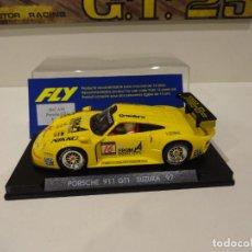 Slot Cars: FLY. PORSCHE 911 GT1. SUZUKA 1997. REF. A-36. Lote 289906388