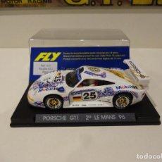 Slot Cars: FLY. PORSCHE 911 GT1. 2º LE MANS 1996. REF. A-31. Lote 289906498