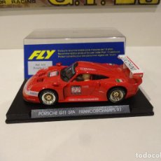 Slot Cars: FLY. PORSCHE 911 GT1. SPA FRANCORCHAMPS 1997. REF. A-34. Lote 289906598