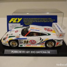 Slot Cars: FLY. PORSCHE 911 GT1 EVO. DAYTONA 1998. REF. A-53. Lote 289906708