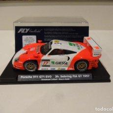 Slot Cars: FLY. PORSCHE 911 GT1 EVO. SEBRING FIA GT 1997. REF. E-50. Lote 289906938