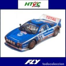 Slot Cars: FLY LANCIA 037 #11 EFECTO SUCIO RALLY TOUR DE CORSE 1984 ANDRUET CHARDONNET E2023. Lote 292588013